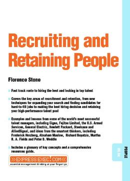 RECRUITING AND RETAINING PEOPLE