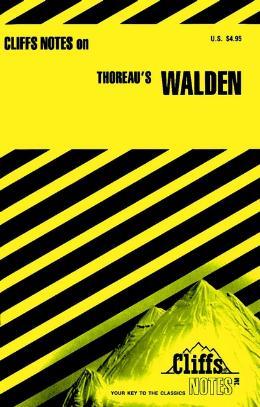CLIFFSNOTES ON THOREAU´S WALDEN
