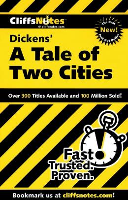 CLIFFSNOTES ON DICKEN´S A TALE OF TWO CITIES
