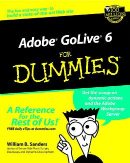 ADOBE GOLIVE 6 FOR DUMMIES