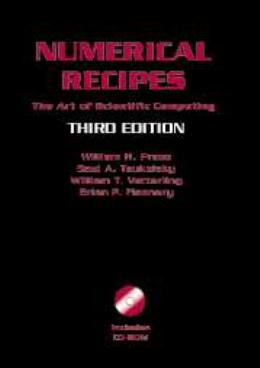NUMERICAL RECIPES WITH SOURCE CODE CD-ROM - 3RD ED