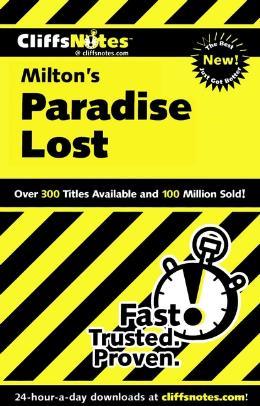 CLIFFSNOTES ON MILTON´S PARADISE LOST