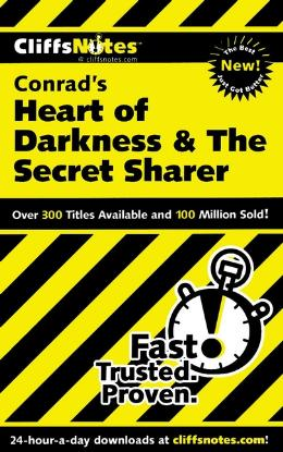 CLIFFSNOTES ON CONRAD´S HEART OF DARKNESS & THE SECRET SHARER