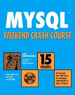 MYSQL WEEKEND CRASH COURSE