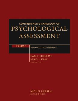 COMPREHENSIVE HANDBOOK OF PSYCHOLOGICAL ASSESSMENT, PERSONALITY ASSESSMENT