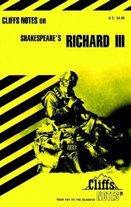 CLIFFSNOTES ON SHAKESPEARE´S RICHARD III