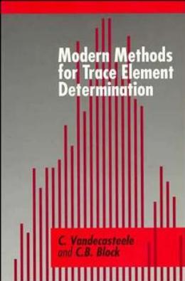 MODERN METHODS FOR TRACE ELEMENT DETERMINATION