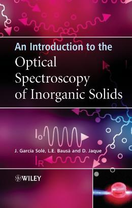 AN INTRODUCTION TO THE OPTICAL SPECTROSCOPY OF INORGANIC SOLIDS