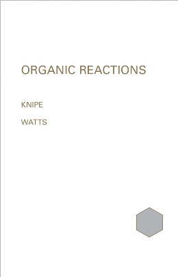 ORGANIC REACTION MECHANISMS, 1999