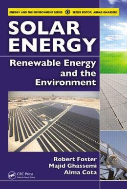 SOLAR ENERGY - RENEWABLE ENERGY AND THE ENVIRONMENT