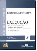 PROCESSO CIVIL MODERNO - EXECUCAO VOL. 3 - 2ª EDICAO