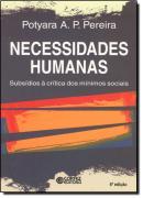 NECESSIDADES HUMANAS -  SUBSIDIOS A CRITICA DOS MINIMOS SOCIAIS