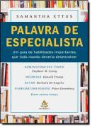 PALAVRA DE ESPECIALISTA