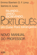 FALANDO... LENDO... ESCREVENDO... PORTUGUES - NOVO MANUAL DO PROFESSOR