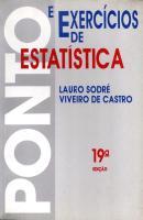 PONTOS E EXERCICIOS DE ESTATISTICA - 19ª ED