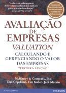 "AVALIACAO DE EMPRESAS  ""VALUATION"" - 3ª ED"