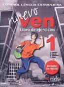 NUEVO VEN 1 LIBRO DE EJERCICIOS + CD AUDIO
