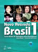 NOVO AVENIDA BRASIL 1 - CURSO BASICO DE PORTUGUES PARA ESTRANGEIROS -  LIVRO TEXTO + LIVRO DE EXERCICIOS - COM CD