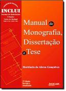 MANUAL DE MONOGRAFIA, DISSERTACAO E TESE - 2ª ED