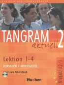 TANGRAM AKTUELL 2 KURSBUCH & ARBEITSBUCH LEKTION 1-4  C/ CD (TEXTO + EXERCICIOS)