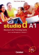 STUDIO D A1 - KURS/UB+CD  (1-6)  (TEXTO E EXERCICIO)