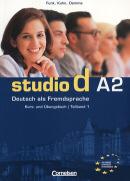 STUDIO D A2 - KURS/UB+CD  (1-6)  (TEXTO E EXERCICIO)