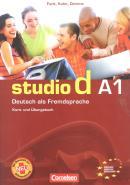 STUDIO D A1 - KURS - UND UBUNGSBUCH + CD  (1-12)  (TEXTO E EXERCICIO)