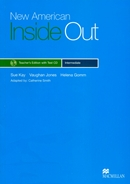 NEW AMERICAN INSIDE OUT INTERMEDIATE TB WITH CD - 2ND ED