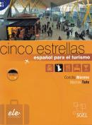 CINCO ESTRELLAS - ESPANOL PARA EL TURISMO - LIBRO + CD