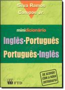 MINIDICIONARIO INGLES-PORTUGUES / PORTUGUES-INGLES - S. RAMOS CAMPOS JR
