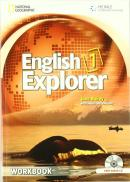 ENGLISH EXPLORER 1 WB WITH CD-AUDIO - 1ST ED
