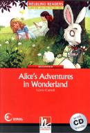 ALICE´S ADVENTURES IN WONDERLAND WITH CD - BEGINNER