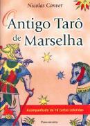 ANTIGO TARO DE MARSELHA - ACOMPANHADO DE 78 CARTAS COLORIDAS