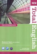 NEW TOTAL ENGLISH PRE-INTERMEDIATE SB - WITH ACTIVE BOOK CD-ROM - 2ND ED