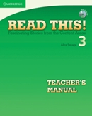 READ THIS! 3 TEACHER´S BOOK WITH CD