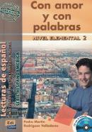 CON AMOR Y CON PALABRAS  HISPANOAMERICA + CD