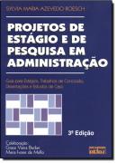 PROJETOS DE ESTAGIO E DE PESQUISA EM ADMINISTRACAO  - 3º EDICAO