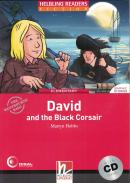 DAVID AND THE BLACK CORSAIR WITH CD - ELEMENTARY