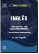 INGLES - 1.000 QUESTOES COM GABARITO COMENTADO - 6ª EDICAO