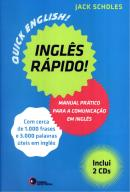 INGLES RAPIDO - MANUAL PRATICO PARA A COMUNICACAO EM INGLES - CONTEM 2 CDs DE AUDIO