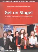GET ON STAGE!  WITH DVD AND CD - 21 SKETCHES AND PLAYS FOR YOUNG LEARNERS AND TEENS