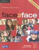 FACE2FACE ELEMENTARY STUDENTS BOOK WITH DVD-ROM - 2ND ED