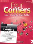 FOUR CORNERS 2 SB WITH CD-ROM AND ONLINE WB - 1ST ED