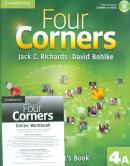 FOUR CORNERS 4A SB WITH CD-ROM AND ONLINE WB - 1ST ED