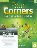 FOUR CORNERS 4 SB WITH CD-ROM AND ONLINE WB - 1ST ED