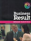 BUSINESS RESULT - ADVANCED STUDENT S BOOK WITH DVD-ROM