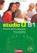STUDIO D B1 - KURS/UB+CD (1-12)