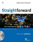 STRAIGHTFORWARD PRE INTERMEDIATE WORKBOOK WITH AUDIO CD (WITH KEY) - 2ND ED