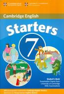 CAMBRIDGE YOUNG LEARNERS STARTERS 7 STUDENTS BOOK - 1ST ED