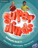 SUPER MINDS BRITISH 3 STUDENT´S BOOK WITH DVD-ROM - 1ST ED
